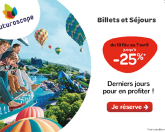 Promotions Futuroscope vacances de Printemps 2018
