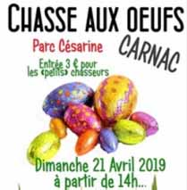 Chasse aux Oeufs Carnac - dimanche 21 avril 2019