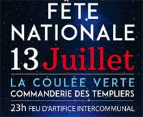 Fête nationale 2019 Maurepas Elancourt - Feu d'artifice
