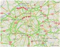 Cliquez pour afficher Google Maps Trafic