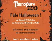 Halloween Touroparc 2019 - animations Halloween