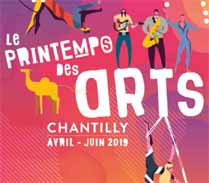 Le Printemps des Arts Chantilly - du 27 avril au 22 juin 2019