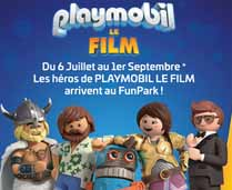 Animations Playmobil FunPark -  les héros de Playmobil le film