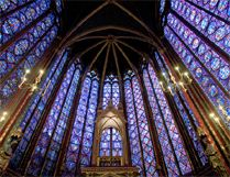 Sainte Chapelle de Paris - joyau du gothique