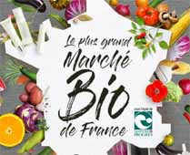 Salon Marjolaine Paris 2020  - le grand marché BIO de France