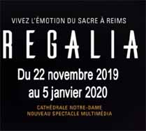 Spectacle Regalia Cathédrale de Reims - été 2020