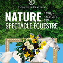 Spectacle équestre Nature Chantilly - d'avril  à novembre 2019