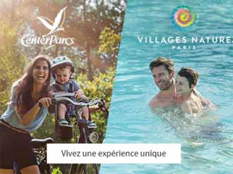 Vente privée Center Parcs et Village Nature Septembre 2018